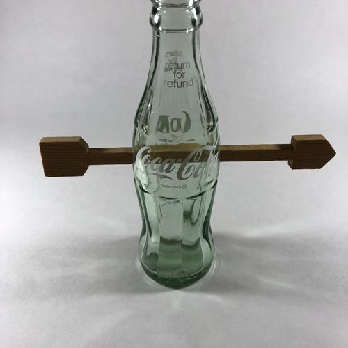 Coca-Cola Bottle with Wooden Arrow-Gary Foshee