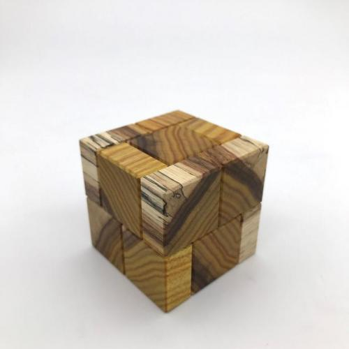 Cube Sixteen Canary Sapwood by  Stewart Coffin (1)