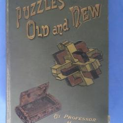 Puzzles Old and New - Original c1895 edition
