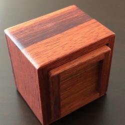 Karakuri Small Box #4 and Cube Box #4