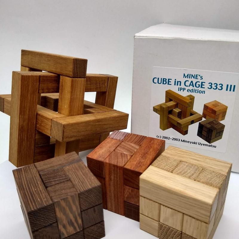 Mine's Cube in cage 333 I,II,III IPP edition