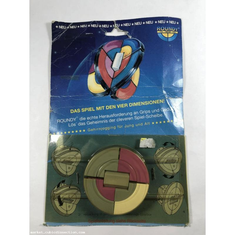 Roundy 8 Color, 4 Wing w/ Packaging