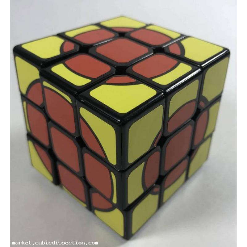 Growing Circle Cube - Cube Deluxe - 3x3x3 Sticker Mod