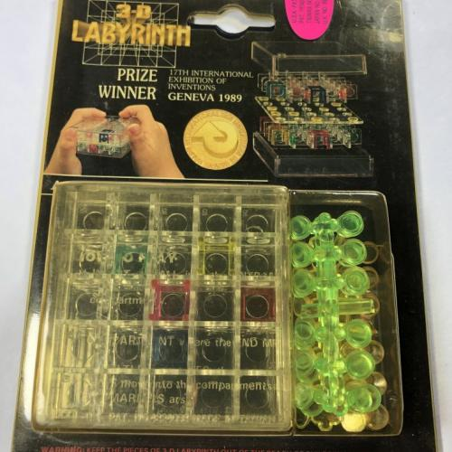 3D Labyrinth Puzzle Kit Award Winner New Sealed