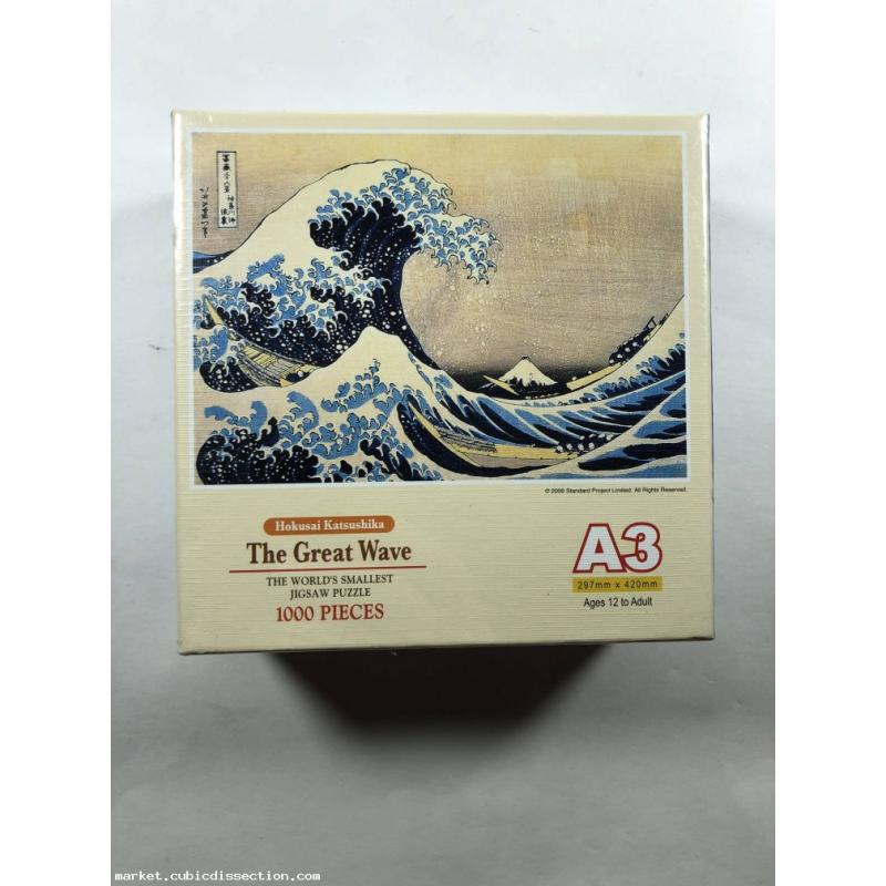 Tomax 1000 Piece Mini Puzzle: The Great Wave Mini Puzzle