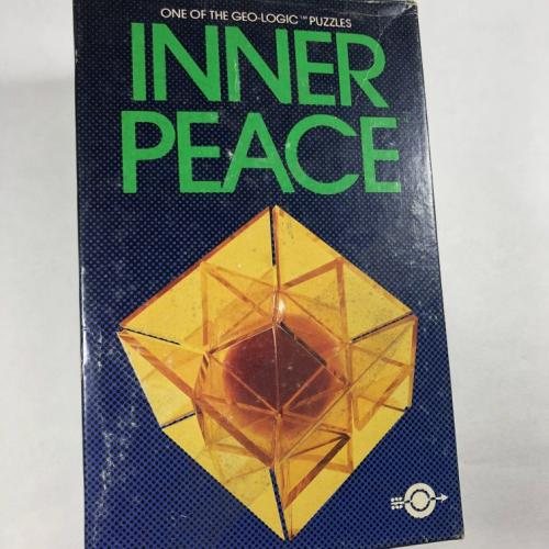 Geo Logic Inner Peace Rare Assembly Puzzle