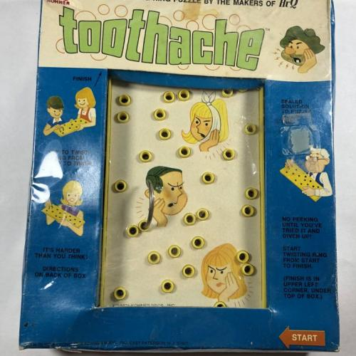 Kohner Toothache Routefinding Vintage Puzzle NEW