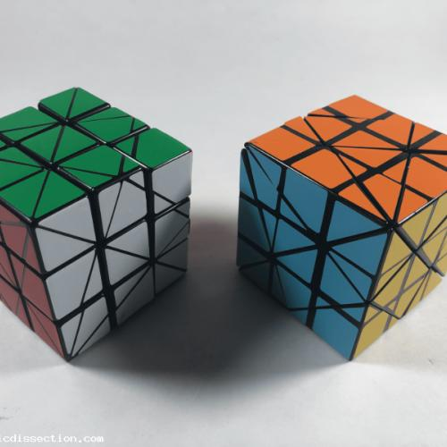 Disguised Axis Cube Lot x2 - Sticker Mods