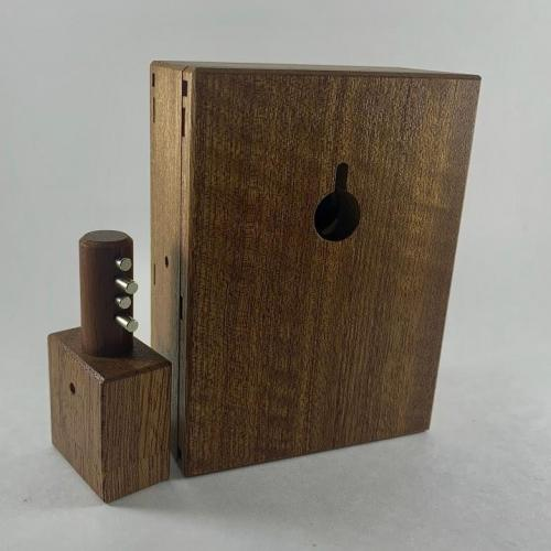 Lock Box (Waterfall Sapele)