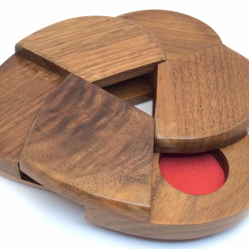 Coordinate Motion Heart Puzzle box