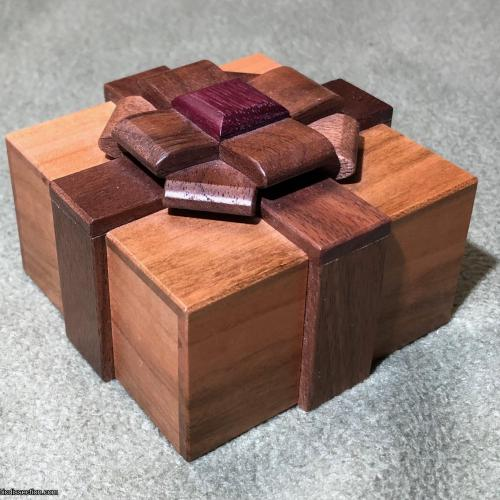 Box with a Ribbon III