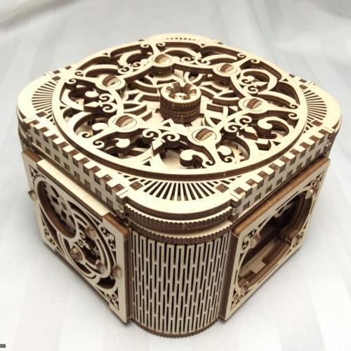 Treasure Puzzle Box