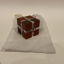 Band Cube by William Hu Made by Eric Fuller