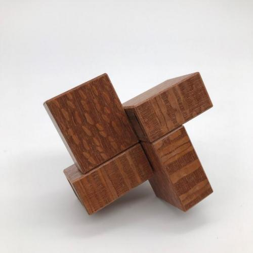 Oskar's Matchboxes Leopardwood/ Walnut by Oskar van Deventer