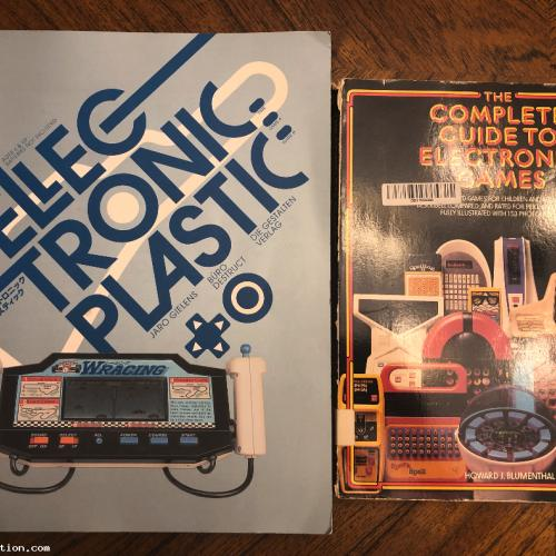 Electronic Puzzles and Games Book Lot RARE