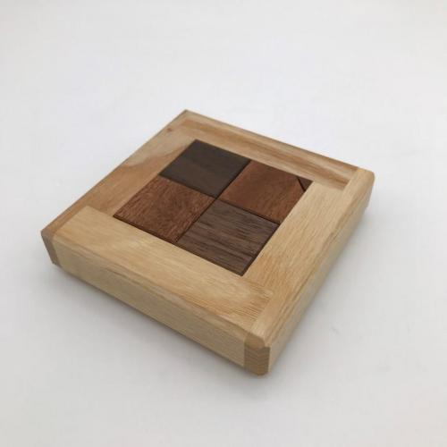 Stumbling Blocks Walnut, Sapele, Ash by Pit Khiam Goh