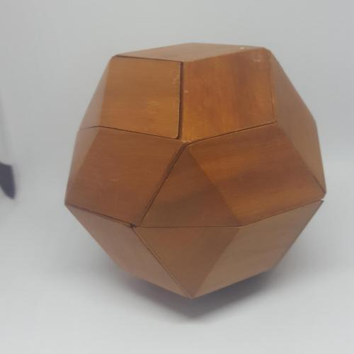 THE GOLDEN RHOMBIC TRIACONTAHEDRON