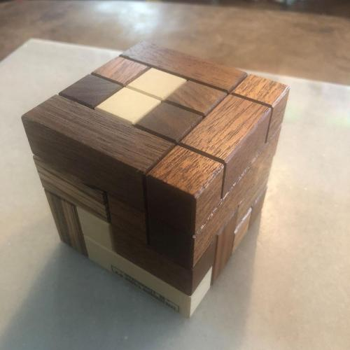Disjointed/Accordion Cube