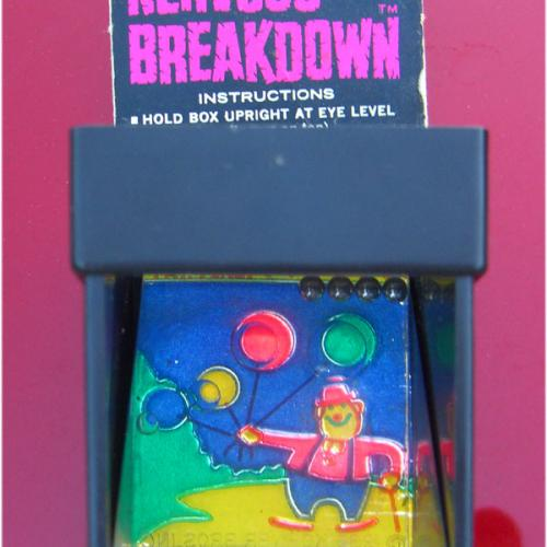 Nervous Breakdown 1968 Mirror Puzzle by