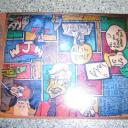 Non Sequitur 1987 Original, One of a Kind Graphic Artist Jigsaw