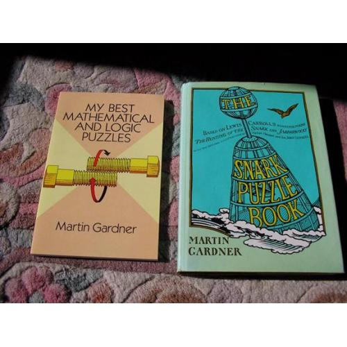 "Snark Puzzle Book and ""My Best Math and Logic Puzzles"" by Martin Gardner"