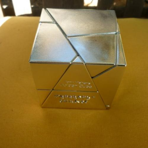 Tony Fisher's Golden Cube (silver version)