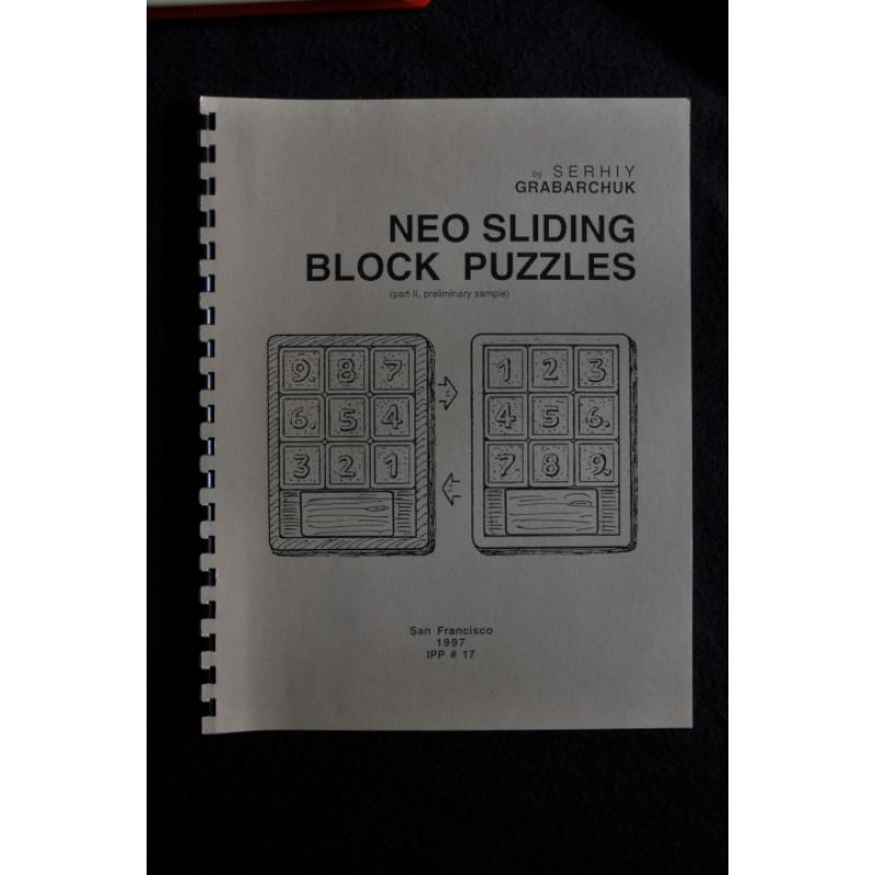 Neo Sliding Block Puzzles Part II  Preliminary Sample
