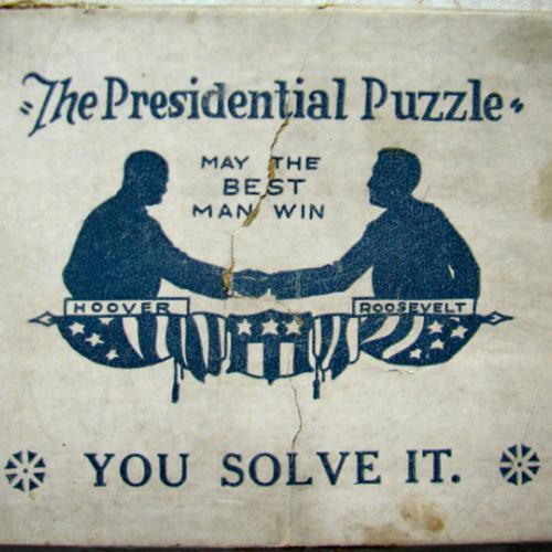The Presidential Puzzle -- Roosevelt & Hoover