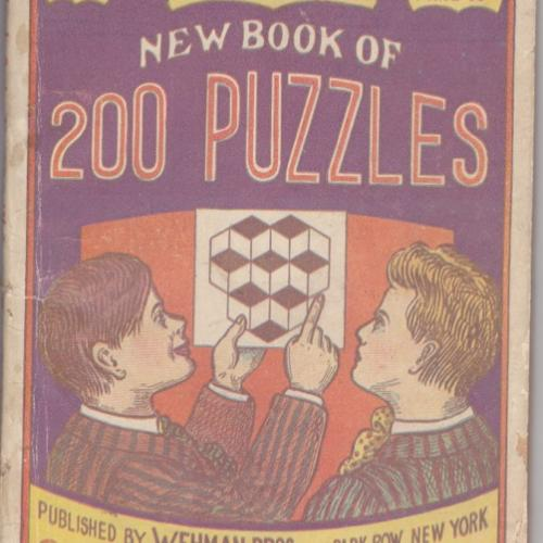 Wehman Bros. New Book of 200 Puzzles, No. 1