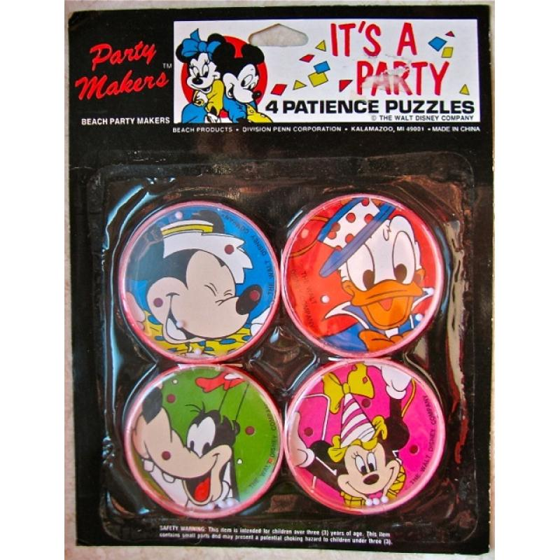 It's a Party - 4 Patience Puzzles