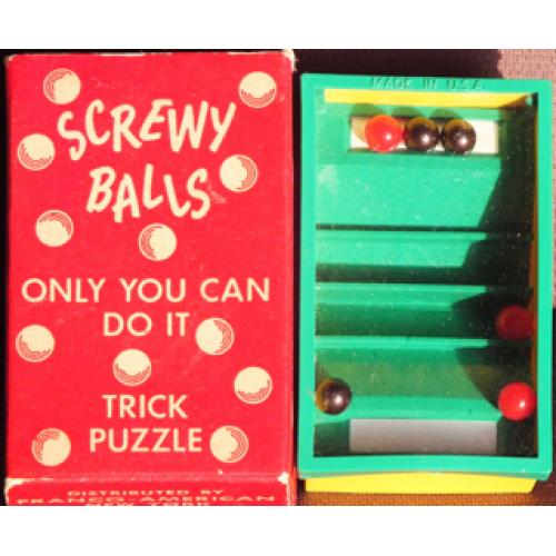 Screwy Balls Trick Puzzle - Magic
