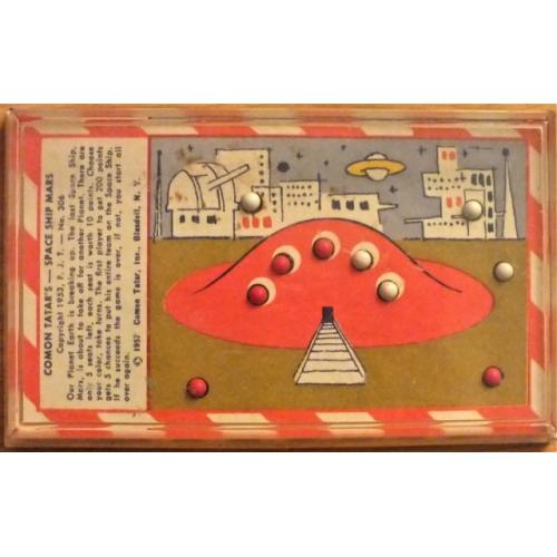Space Ship Mars - 1957 ball dexterity puzzle