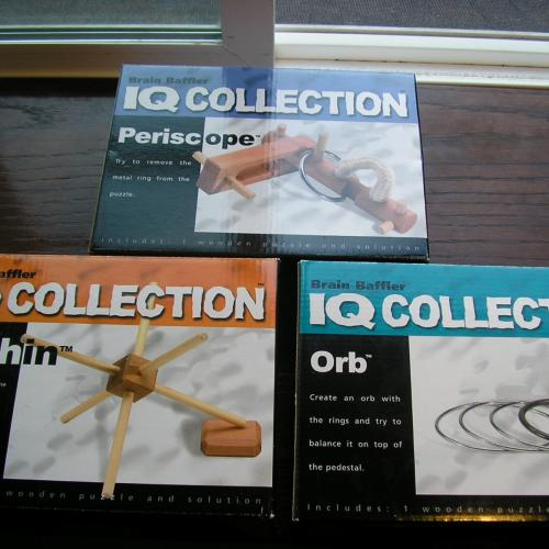 IQ Collection - Orb, Urchin, and Periscope
