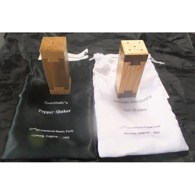 Sandfield Salt and Pepper Shakers