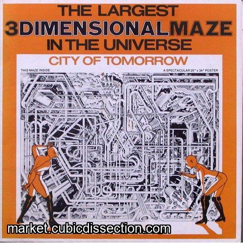 The Largest 3 Dimensional Maze in the Universe!
